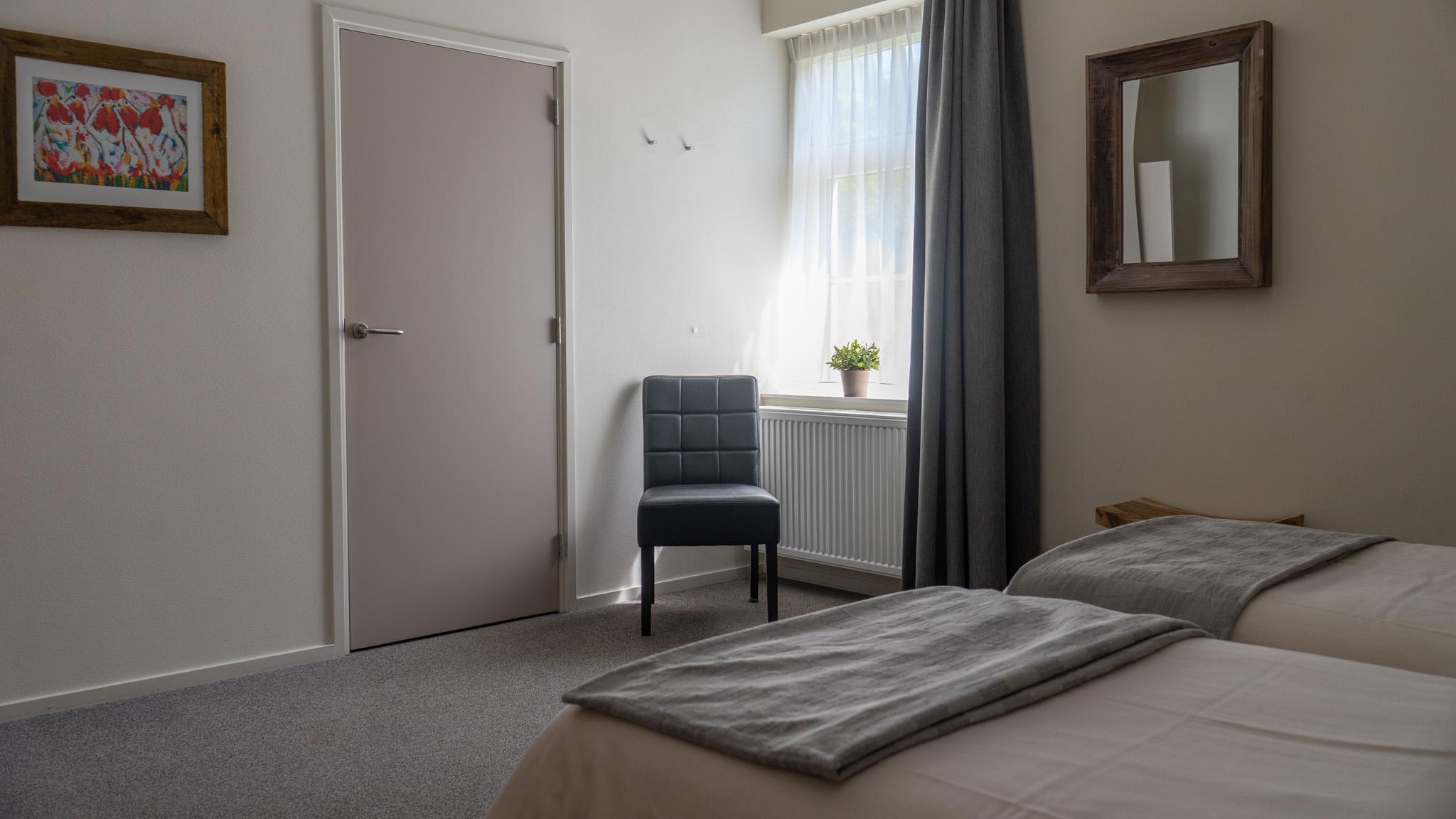 Slaapkamer Groepsaccommodatie drenthe Orvelter hof 12